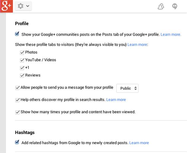پروفایل گوگل3
