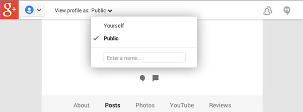 پروفایل گوگل5