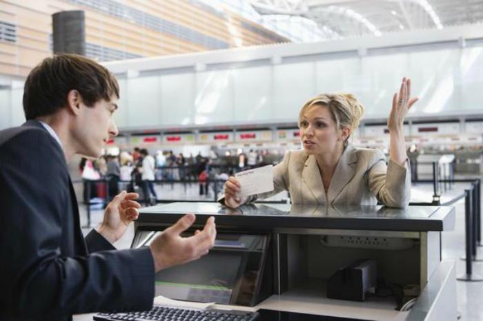 خوشحال باشید که مشتری بر سر شما فریاد می زند
