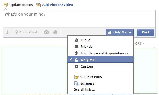 استفاده از پروفایل شخصی فیسبوک در کسب و کار