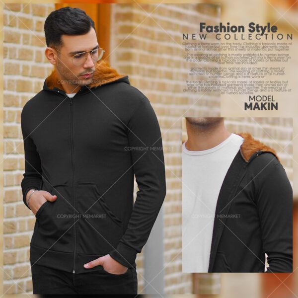 سوئيشرت مردانه مدل MAKIN1