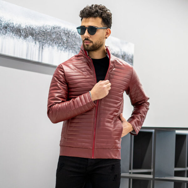 كاپشن چرم مردانه مدل TIMER3