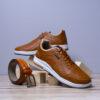 کفش مردانه ecco عسلی مدل Viksa3