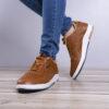 کفش مردانه ecco عسلی مدل Viksa5