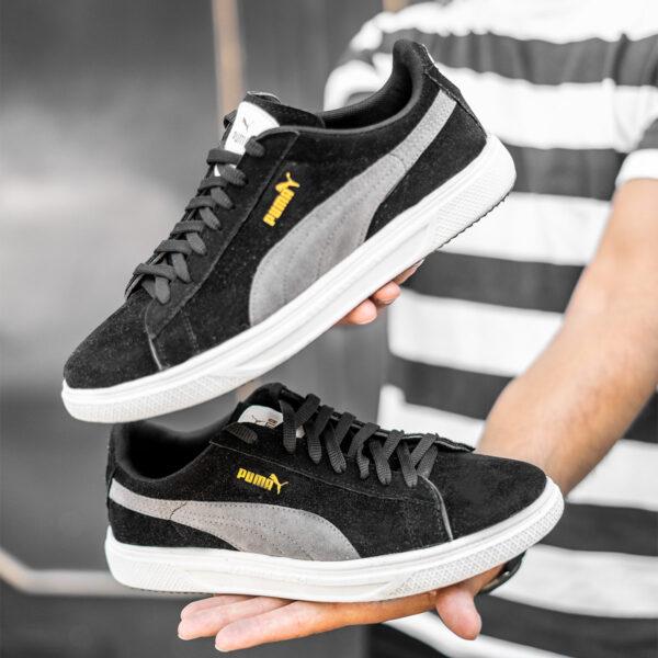 کفش ورزشی Puma مردانه مشکی مدلLenin3