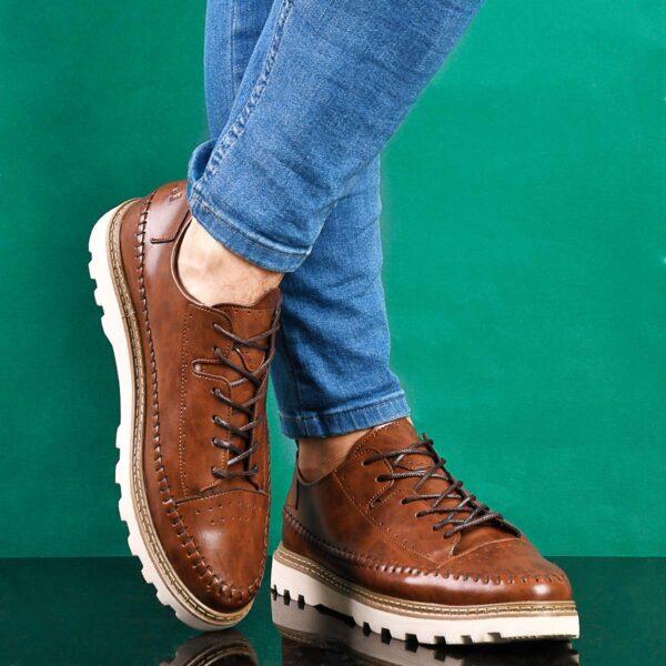 كفش دور دوخت مردانه مدل Zaran3