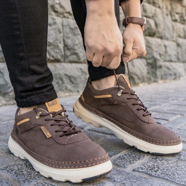 كفش مردانه رنگ قهوه اي مدل Punit6