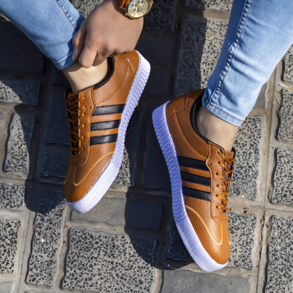 كفش adidas مردانه عسلي مدل Samba4