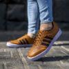 كفش adidas مردانه عسلي مدل Samba5