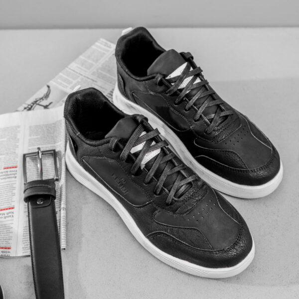 کفش اسپرت Fendi مردانه مشکی مدل Aragon3