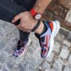کفش ورزشی ریبوک طوسی قرمز مردانه مدل Ervan5