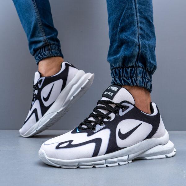 کفش ورزشی سفید مشکی مردانه Nike مدل Bevis3
