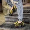 کفش ورزشی مشکی زرد مردانه مدل Arisan