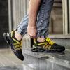 کفش ورزشی مشکی زرد مردانه مدل Arisan5