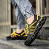 کفش ورزشی مشکی زرد مردانه مدل Arisan6