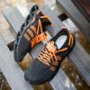 کفش ورزشی مشکی نارنجی مردانه مدل Arisan7