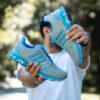 کفش ورزشی Adidas مردانه طوسی آبی مدل Gilva
