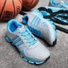 کفش ورزشی Adidas مردانه طوسی آبی مدل Gilva3