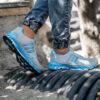 کفش ورزشی Adidas مردانه طوسی آبی مدل Gilva5