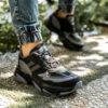 کفش ورزشی Adidas مردانه مشکی مدل Pulin5