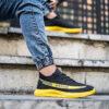 کفش ورزشی Sply 350 مردانه مشکی زرد مدلYogi4